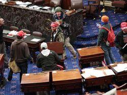 DPR AS Rilis Rekaman Rusuh di Capitol Saat Sidang Pemakzulan Trump