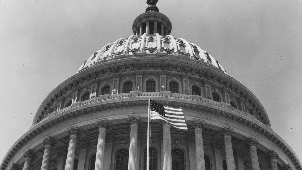 Foto: Sejarah Gedung Capitol Tempat Pendukung Trump Rusuh