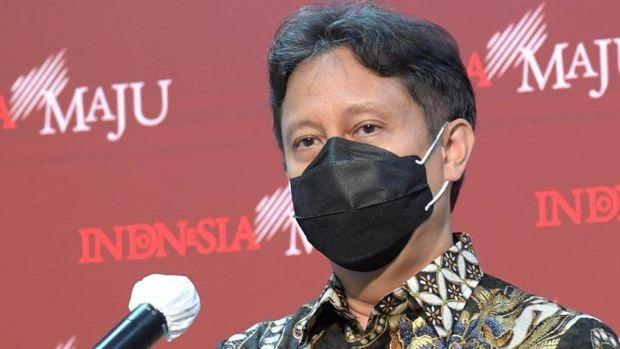 Menkes Budi Gunadi Sadikin memberikan keterangan di kantor presiden, Rabu (6/1).