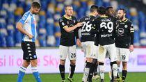 Keren! Tim Promosi Spezia Permalukan Napoli di Kandang