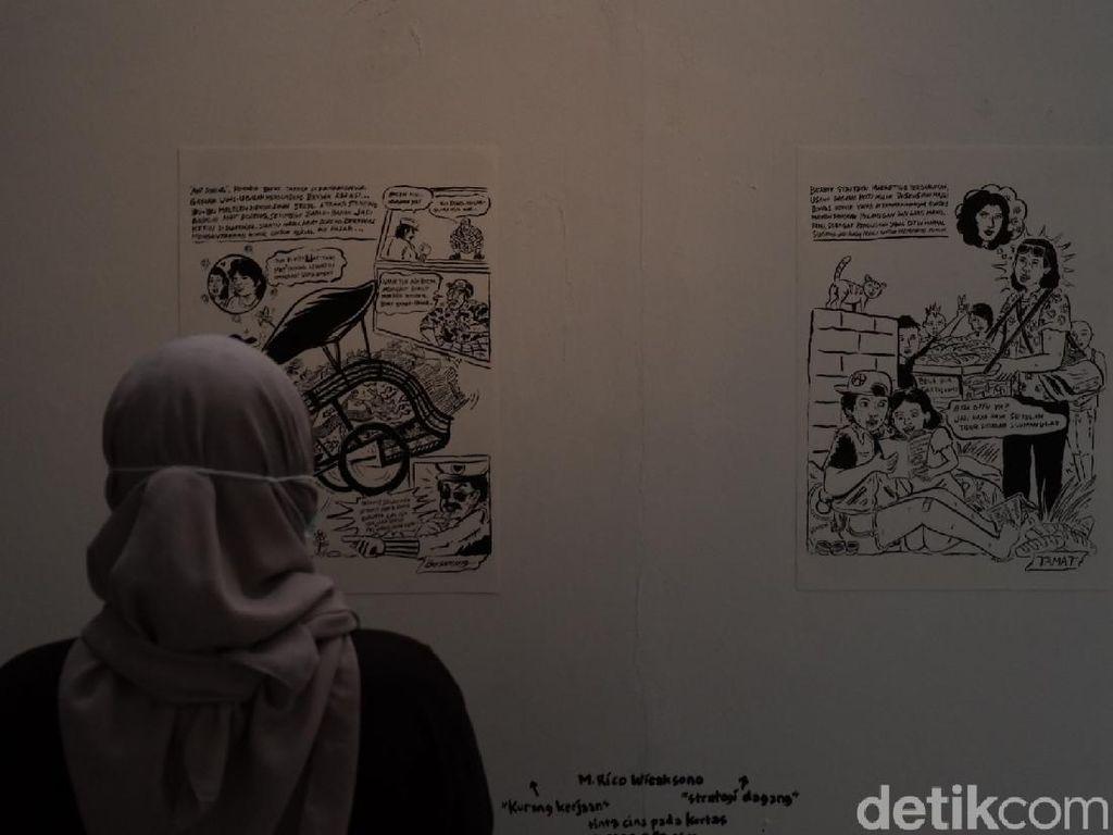 Kilas Balik Toko Komik Legendaris di Bandung Lewat Pameran