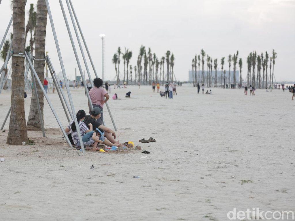 Potret Pantai Pasir Putih PIK2 Ala Miami