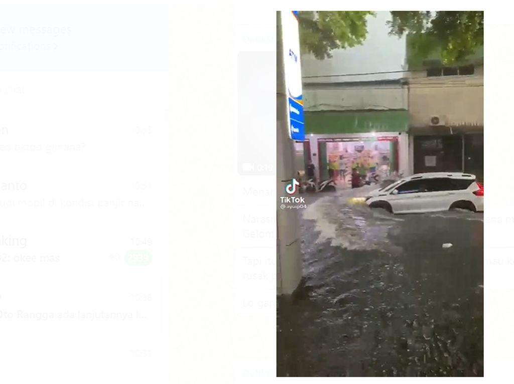 Jangan Egois, Pengemudi Mobil Harus Punya Empati saat Terobos Banjir