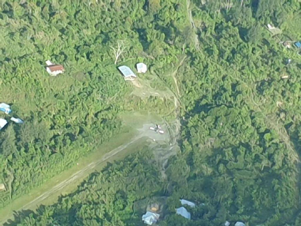 KKB Bakar Pesawat MAF di Intan Jaya Papua