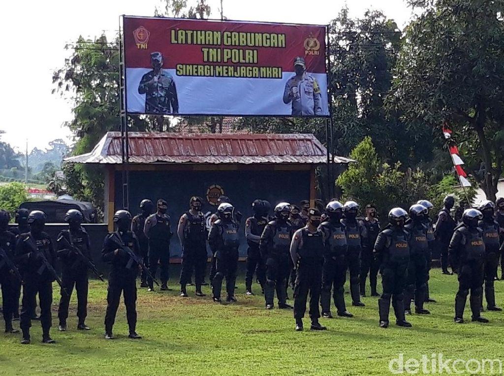 Polda Jateng-Kodam IV Diponegoro Gelar Latihan Gabungan, Ada Apa?