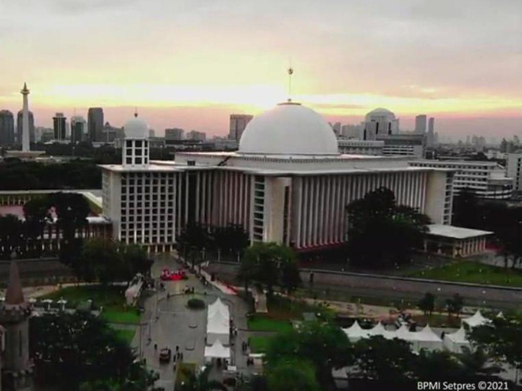 Istiqlal-Satgas COVID Koordinasi soal Waktu Pembukaan Masjid untuk Umum