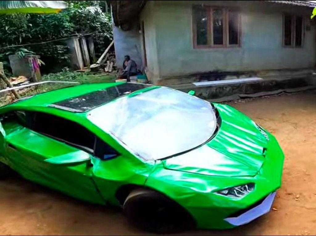 Lamborghini Ini Dibuat dari Barang Rongsokan