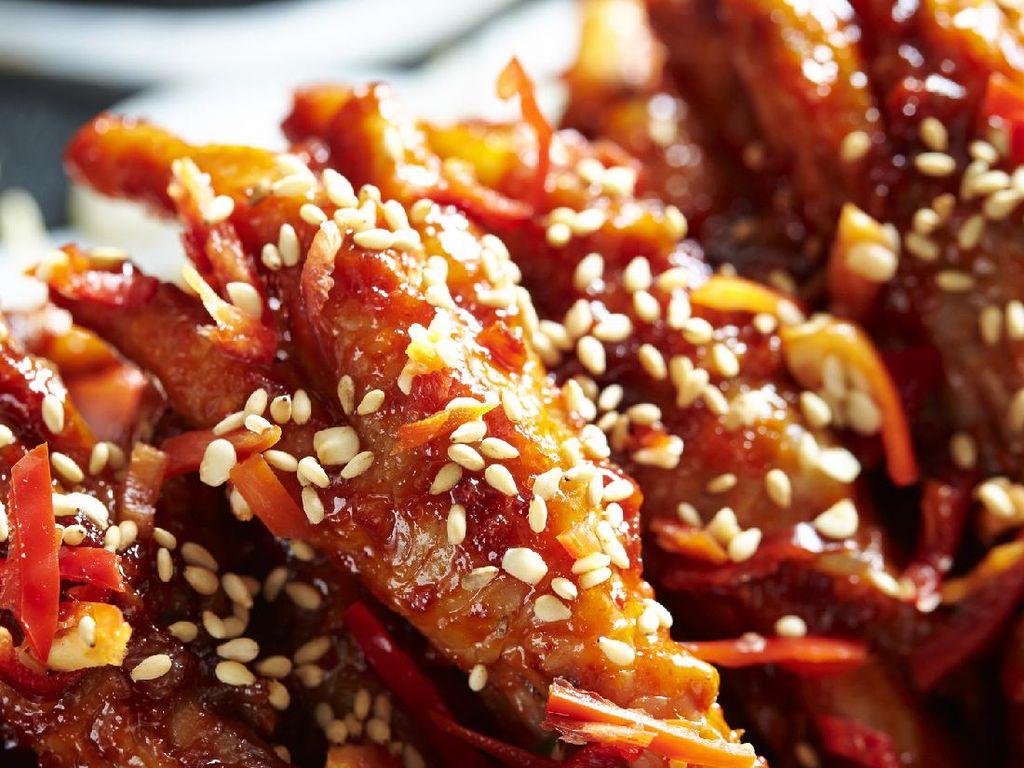 Resep Ceker Mercon ala Korea yang Pedasnya Nonjok