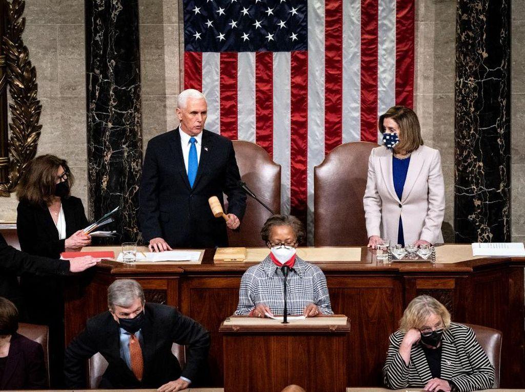 Keberatan Partai Republik Tunda Pengesahan Kemenangan Biden di Kongres AS