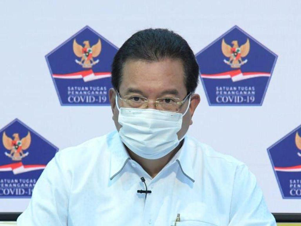 Satgas: Jokowi dan Penerima Vaksin Perdana Tak Alami Efek Samping Berarti