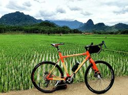Bukan Baja atau Carbon Fiber, Pria Ini Jual Sepeda Berbahan Bambu