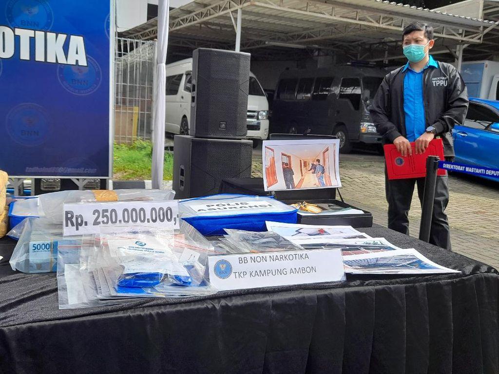 Sita Aset Bandar Narkoba Kampung Ambon Rp 25 M, BNN Selidiki Dugaan TPPU