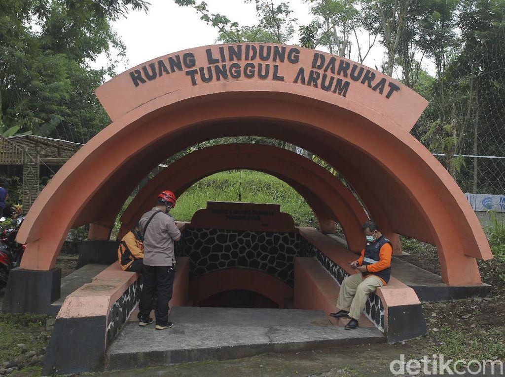 Cek Kesiapan Bunker Tanggularum Pascaerupsi Merapi
