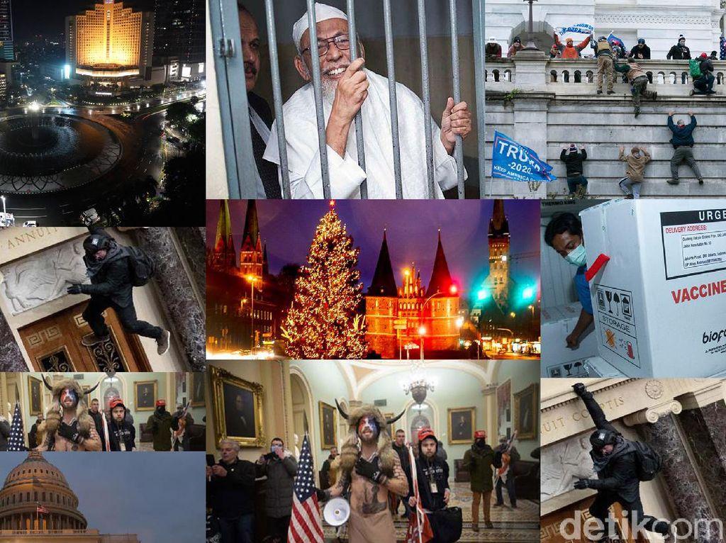 Tahun Baru Sepi Baasyir Bebas dan Gedung Capitol Hill Rusuh