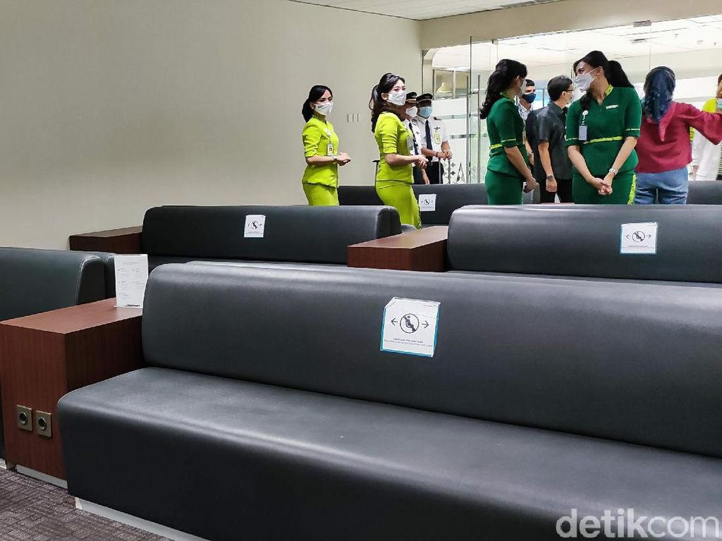 Rupa Lounge Pribadi Bagi Pilot dan Pramugari Garuda