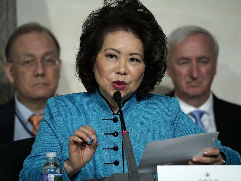 Pernyataan Menhub AS yang Mengundurkan Diri Usai Kericuhan di Capitol