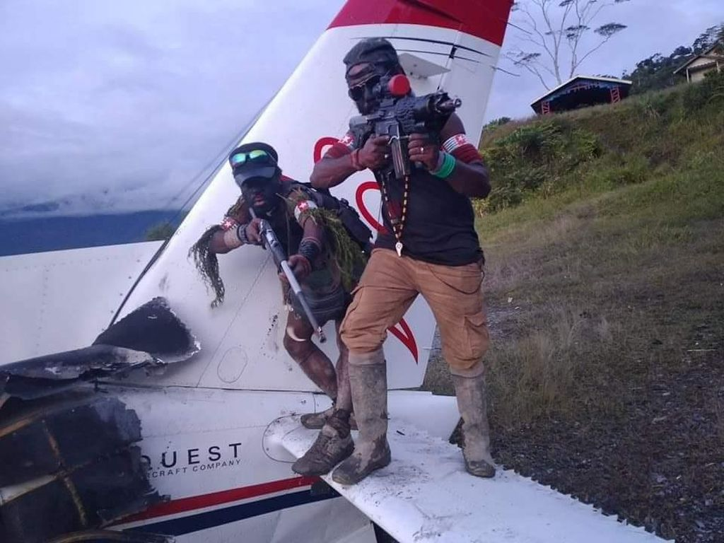 KKB Papua Teroris, 12 Warga Dibunuh-Sekolah Dibakar Selama 2021