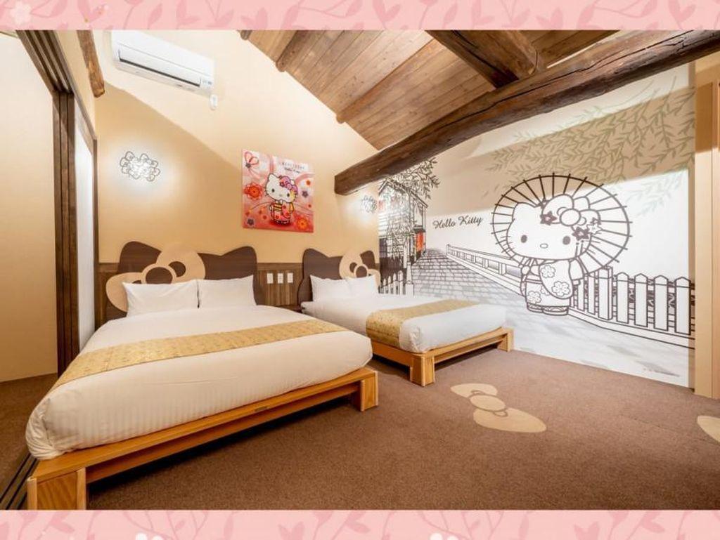 Foto: Hotel Jepang Padukan Konsep Tradisional dengan Hello Kitty