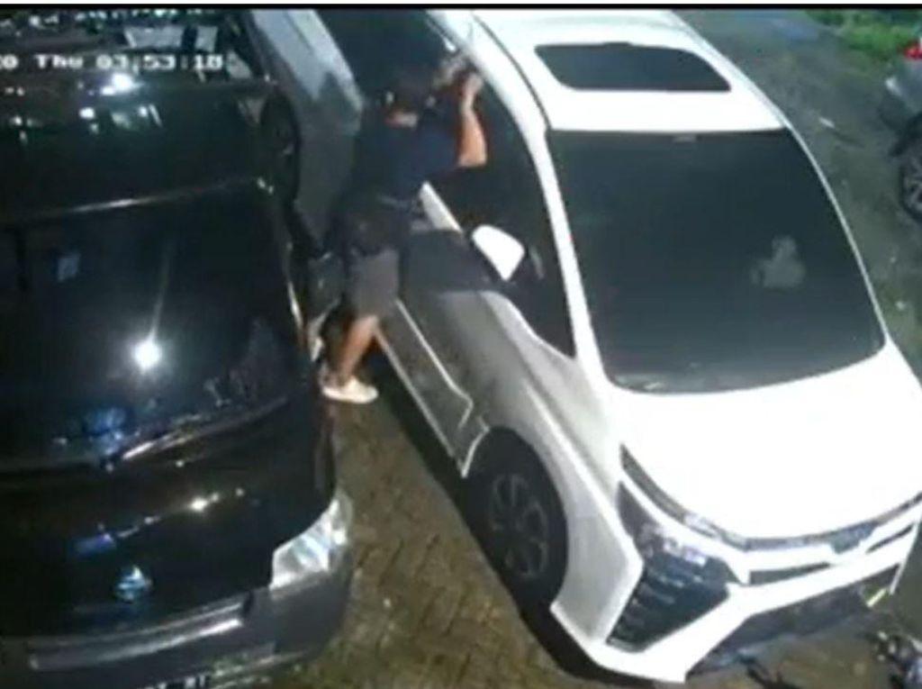 Saat Pencuri Tape Mobil Mewah Diringkus Polisi