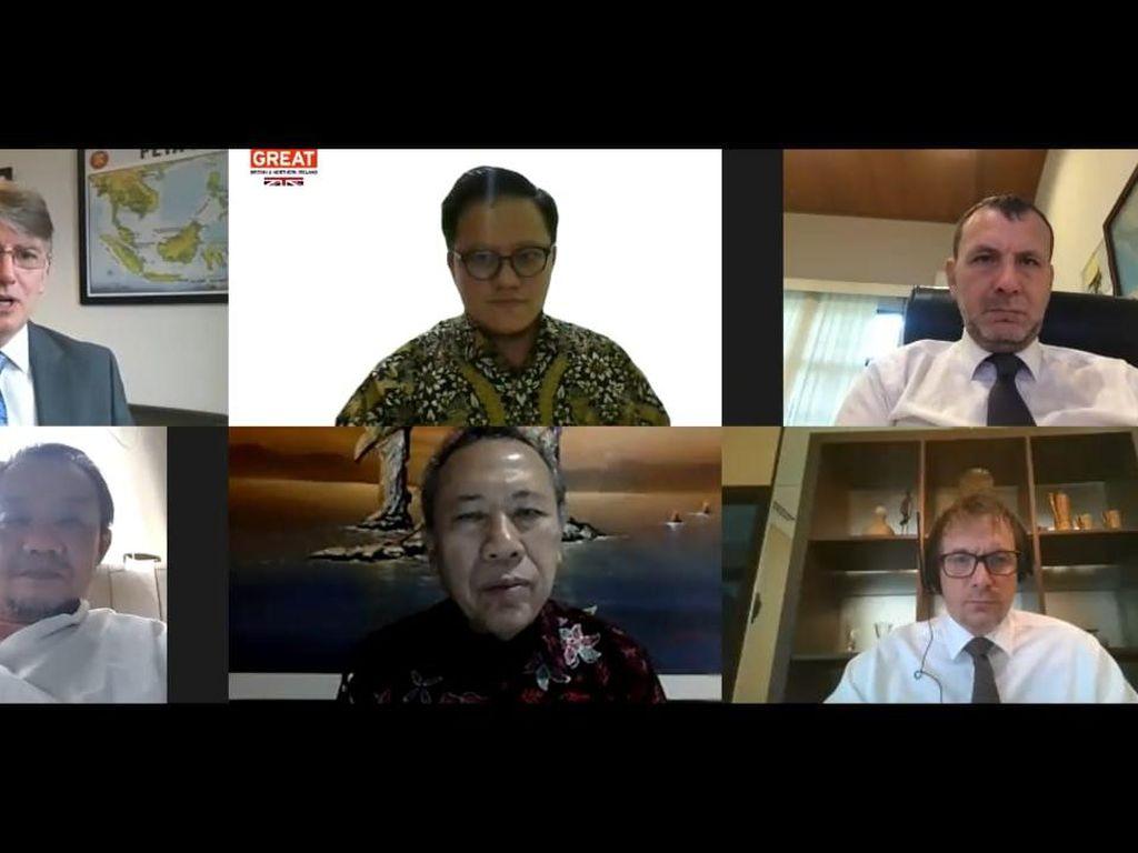 Dubes Inggris Bahas Kerjasama Perubahan Iklim dengan NU-Muhammadiyah