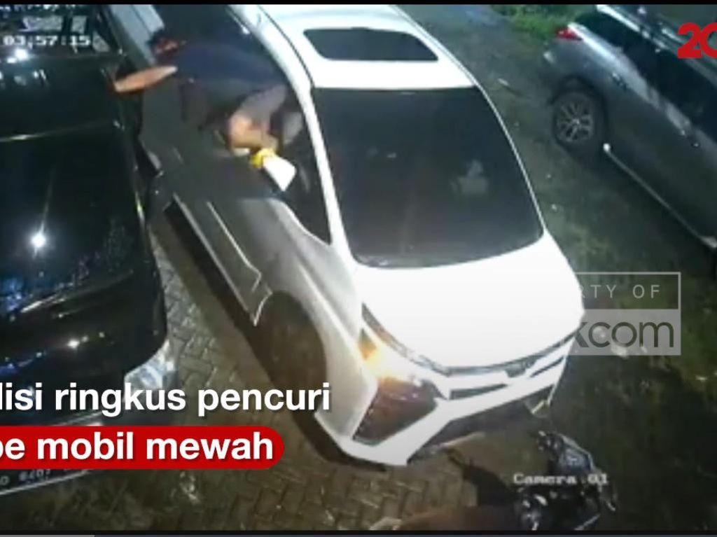 Detik-detik Aksi Lihai Pencurian Tape Mobil Modus Pecah Kaca, Gimana Antisipasinya?