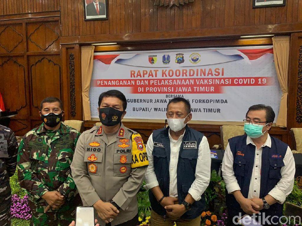 Fix, PPKM Digelar di Surabaya Raya dan Malang Raya