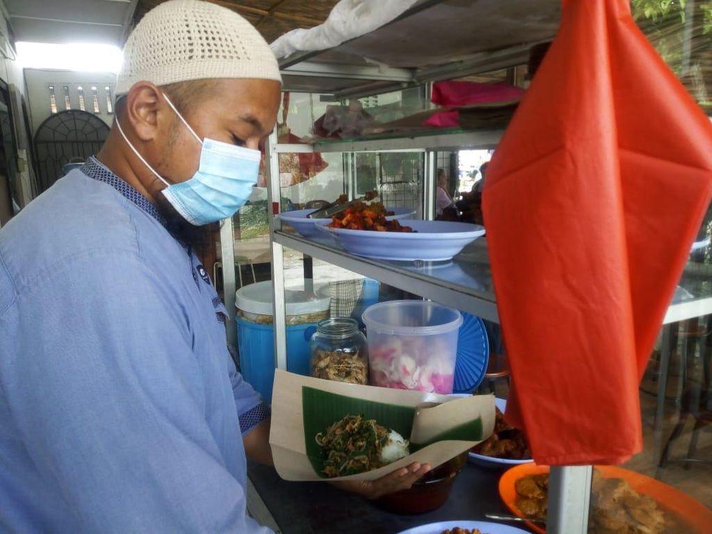 Salut! Eks Napi di Medan Ini Bikin Warung-Rutin Bagi Makanan Gratis ke Warga