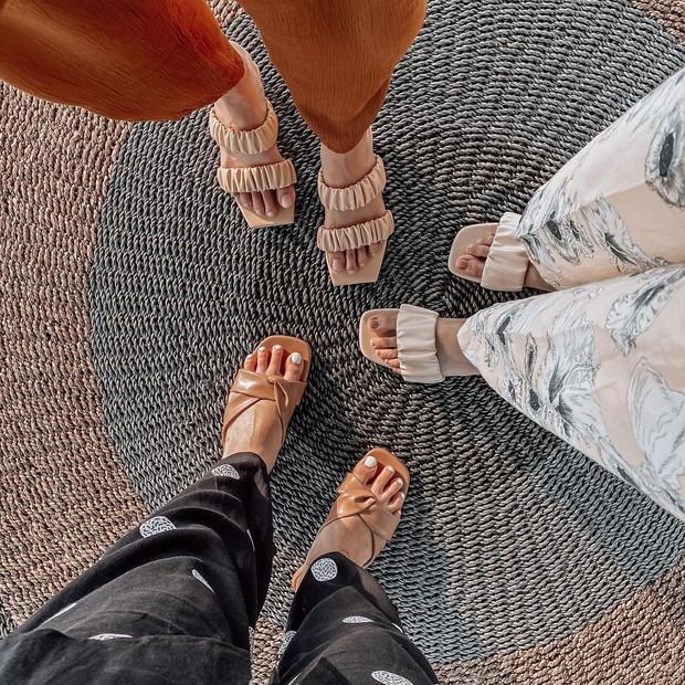 Bisnis sepatu Kesha Ratuliu yang bernama Langkah Kalila.