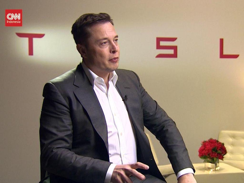 Elon Musk: Pabrik Mobil di AS Cuma Tesla dan Ford Belum Pernah Bangkrut