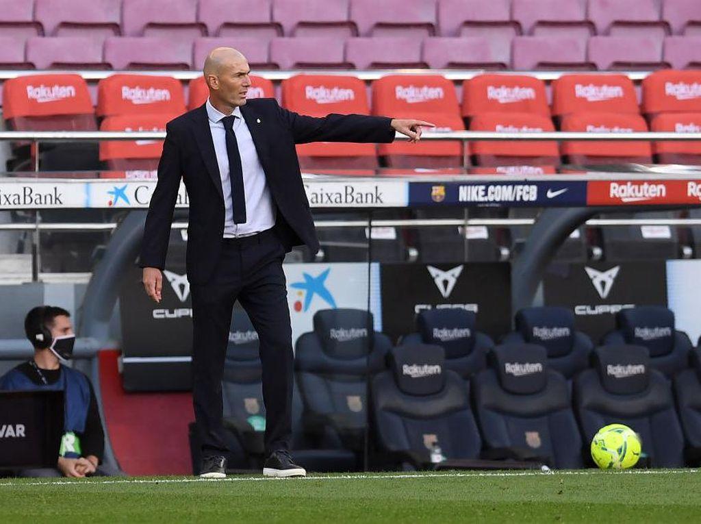 Selesai Jalani Karantina, Zidane Sudah Boleh Latih Real Madrid Lagi
