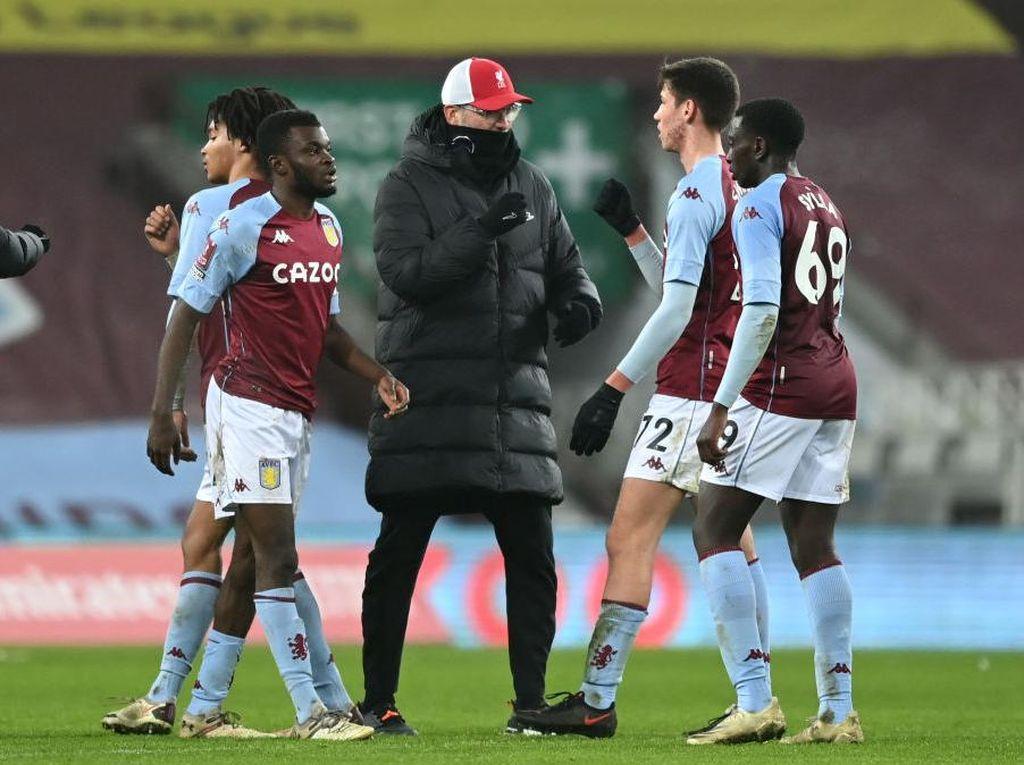 Piala FA: Biar Kalah, Aston Villa Junior Mampu Sulitkan Liverpool