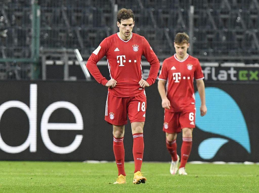 Pertama dalam 10 Tahun, Bayern Kalah di Bundesliga Usai Unggul 2 Gol