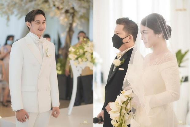 Momen bahagia pernikahan artis