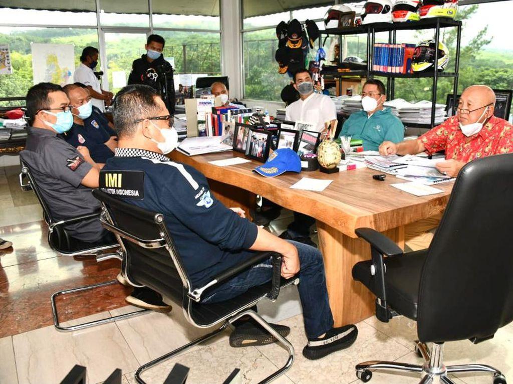 Ketua MPR Harap Pengurus IMI Provinsi Rutin Gelar Event di Sentul