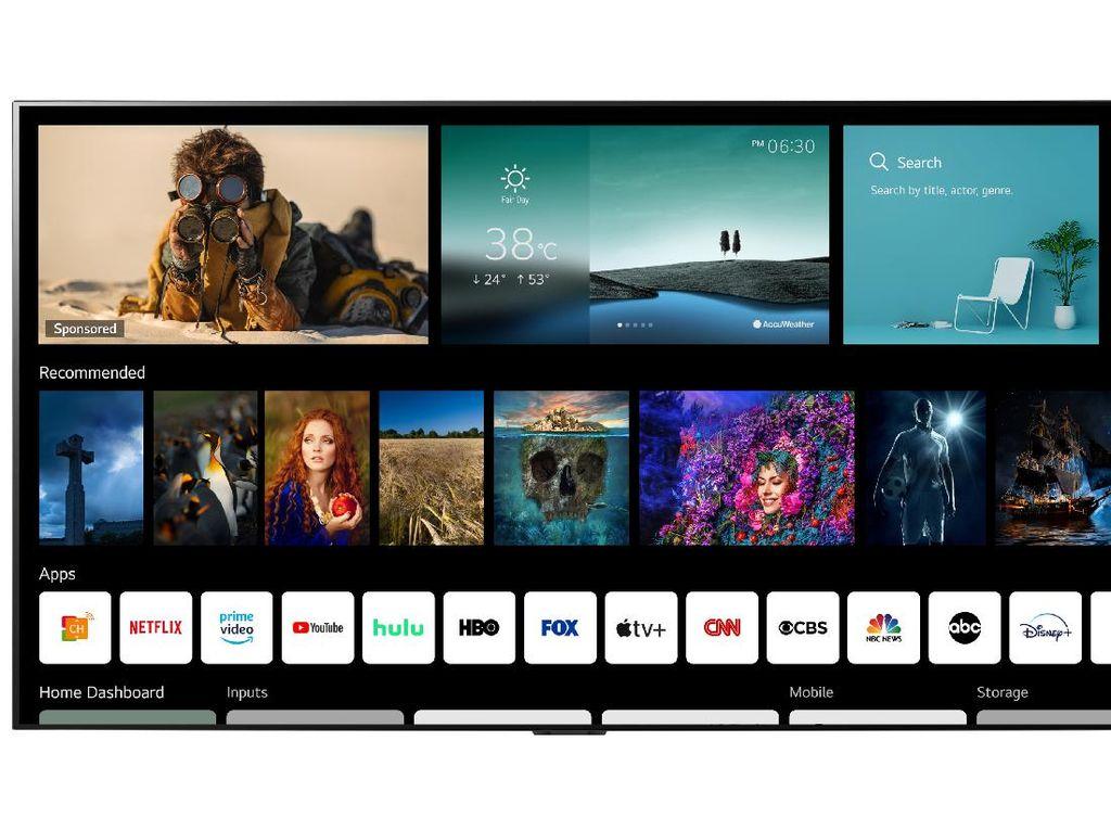 TV LG Bakal Dilengkapi Google Stadia dan GeForce Now