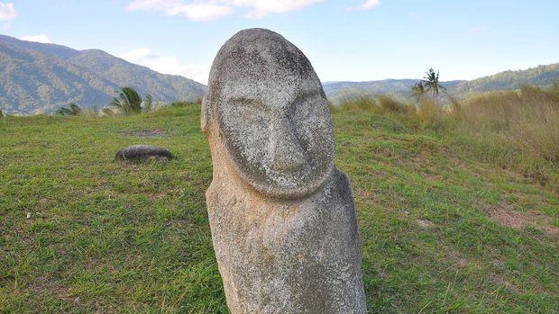 Patung Purba Raksasa di Lembah Bada