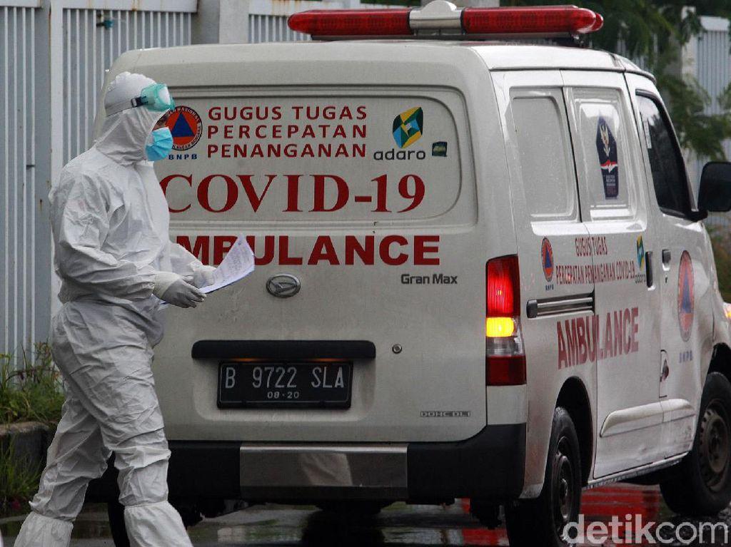 Melonjak! 427 Kematian COVID-19 dalam Sehari, Banten Sumbang 338