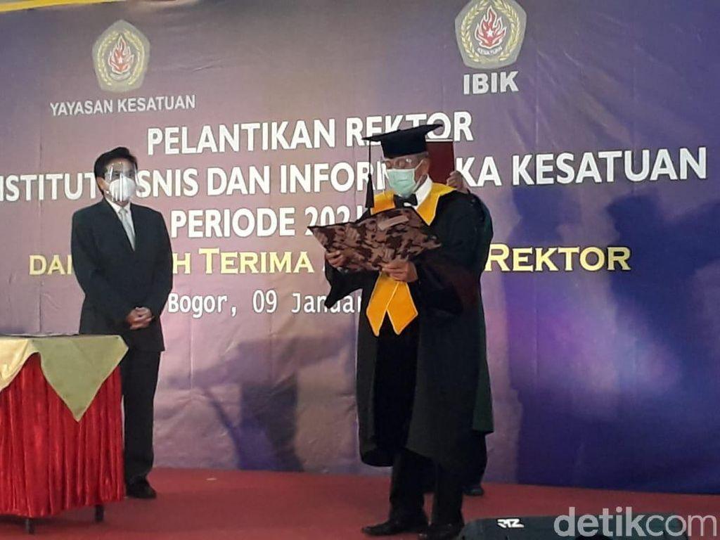 Rektor IBIK Bogor Tetap Inginkan Ada Tatap Muka di Sela-sela Kuliah Daring
