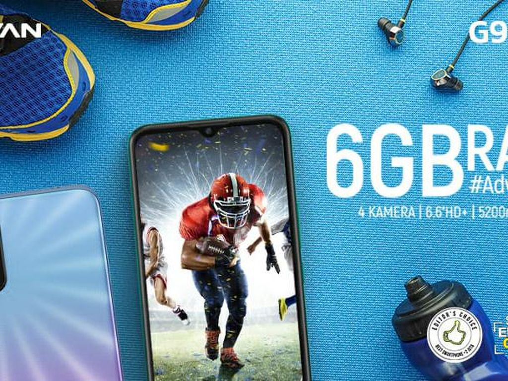 Resolusi HP Baru di 2021? Coba ADVAN G9 Pro yang Dibekali RAM 6GB