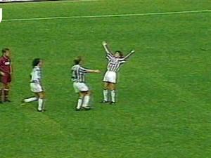 Video: Nostalgia Gol Pertama Del Piero buat Juve
