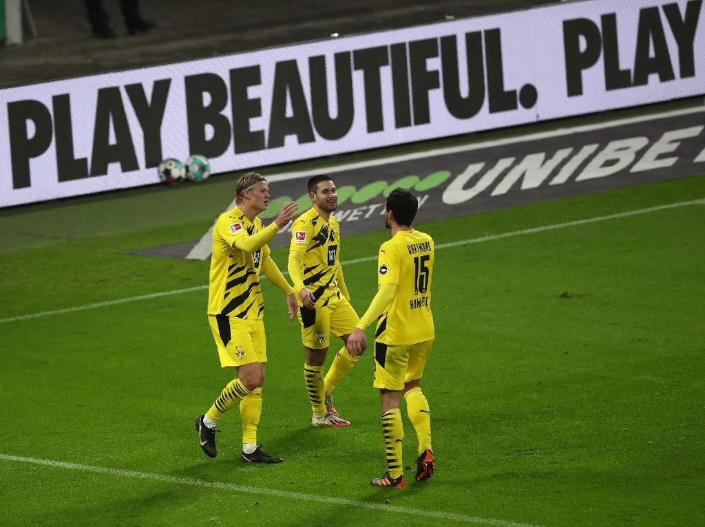 Leipzig Vs Dortmund: Haaland Dua Gol, Die Borussen Menang 3-1
