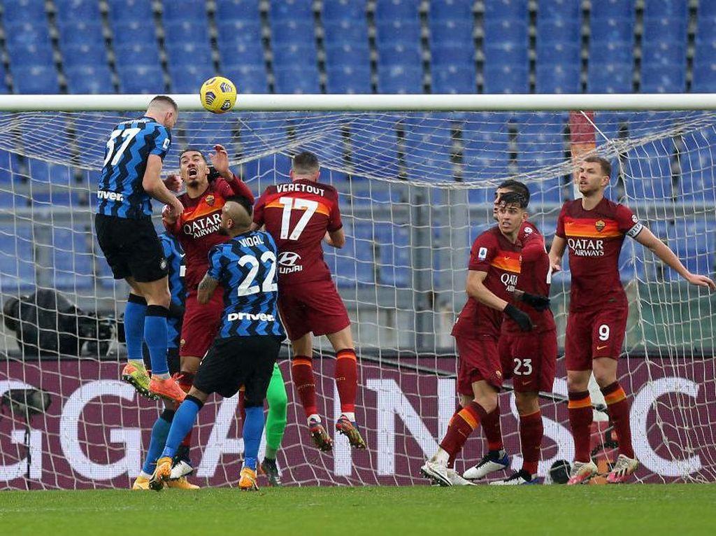 Roma Vs Inter: Serigala Ibu Kota Loyo Selepas Turun Minum