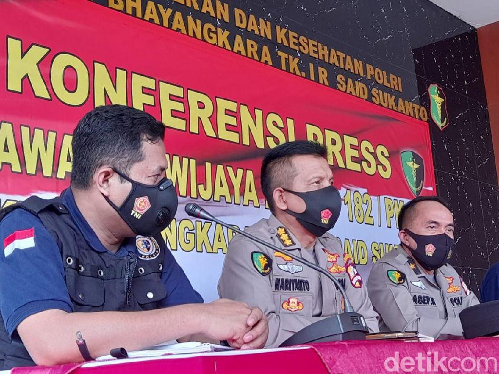 Posko RS Polri Terima Laporan 12 Keluarga Korban Jatuhnya Sriwijaya Air