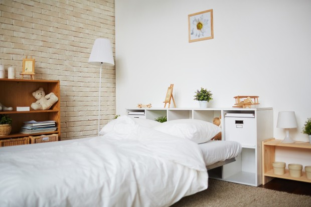 Kamar Tidur Warna Putih