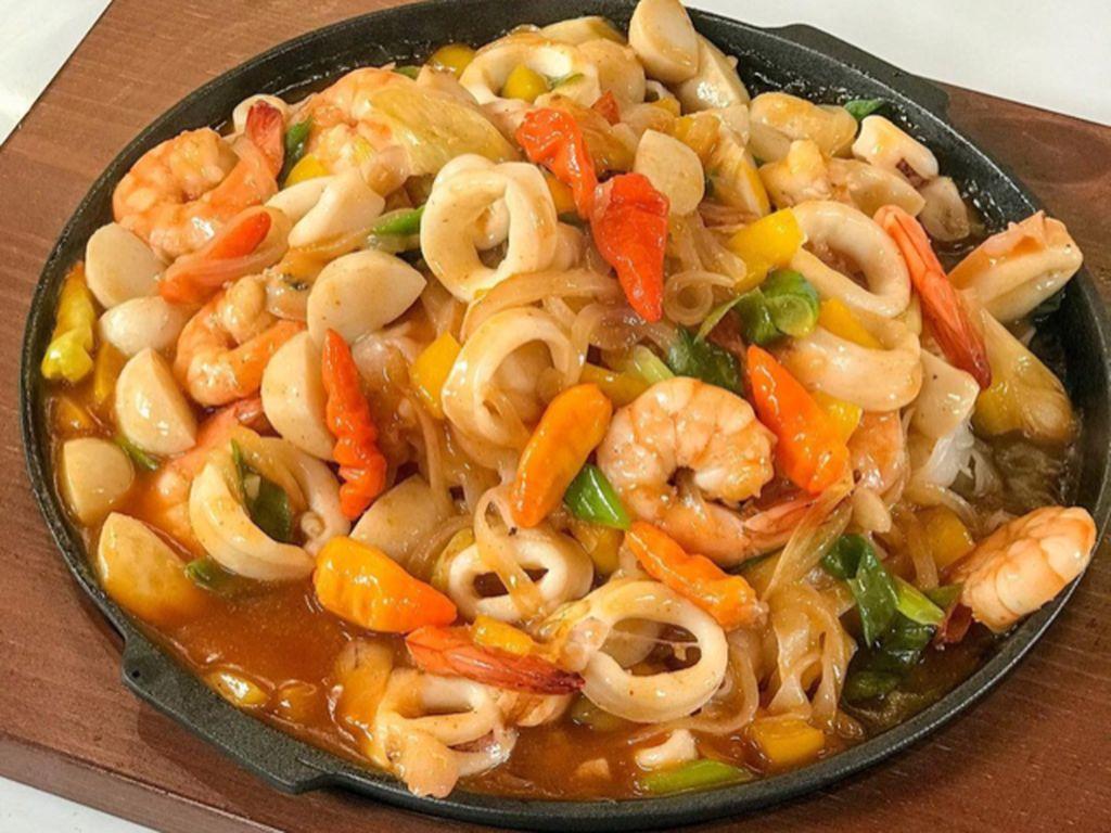 Masak Masak : Kwetiau Seafood Hotplate ala Restoran yang Sedap