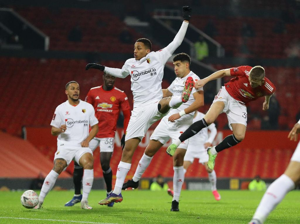 MU Vs Watford: Setan Merah Menang Tipis, Lolos ke Babak Keempat Piala FA