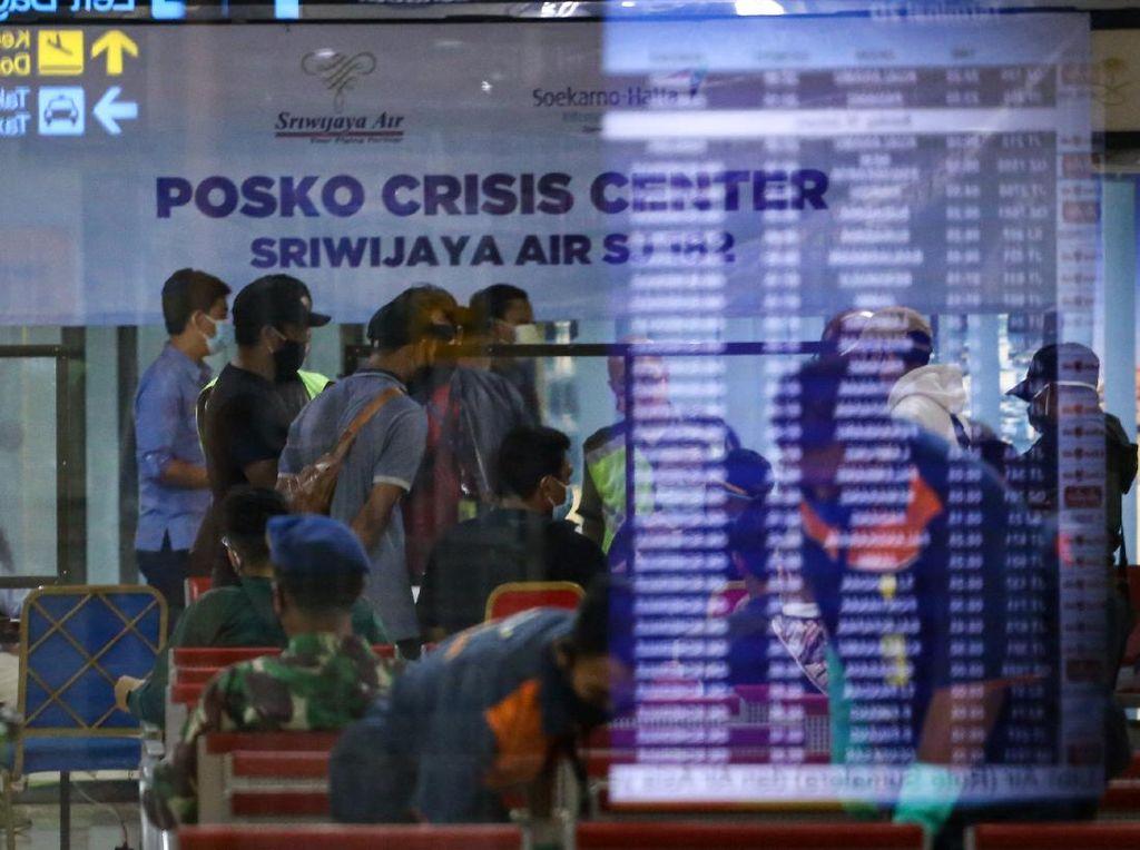 Pendataan Antemortem Korban Sriwijaya Air SJ182 di Soetta-Supadio