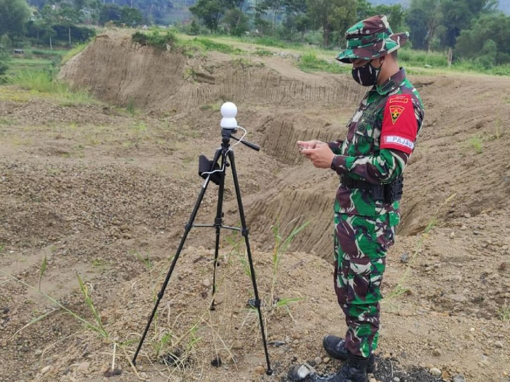 Inovasi Alutsista, Prajurit Armed 105 Ciptakan Alat Deep Eye