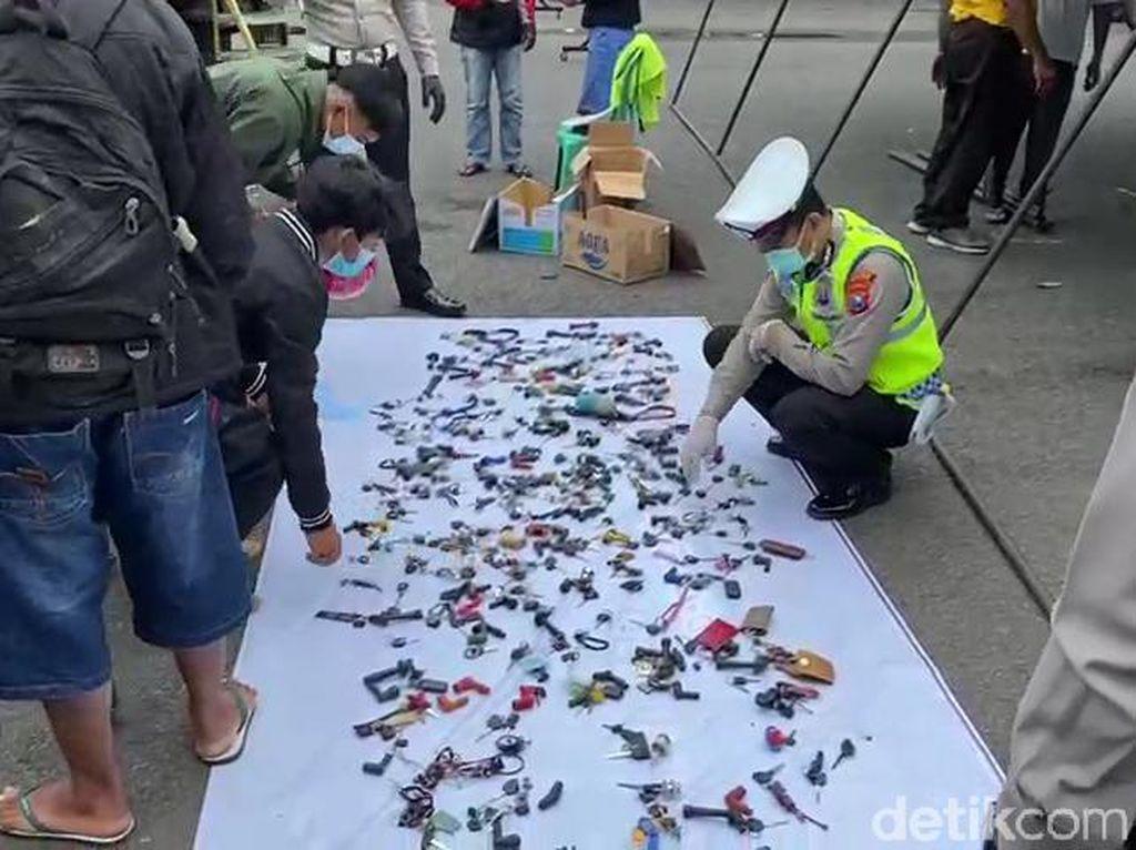 574 Motor Terjaring Razia Balap Liar di Malang, yang Sudah Diambil 120