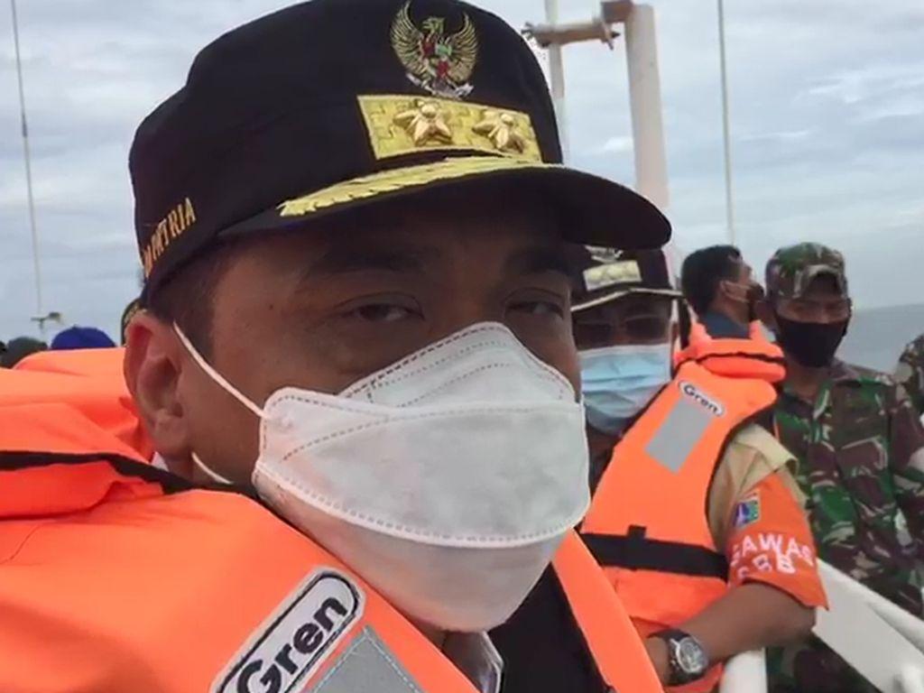 Riza Patria Pantau Posko Pencarian Sriwijaya: Mari Berdoa, Jangan Buat Hoax